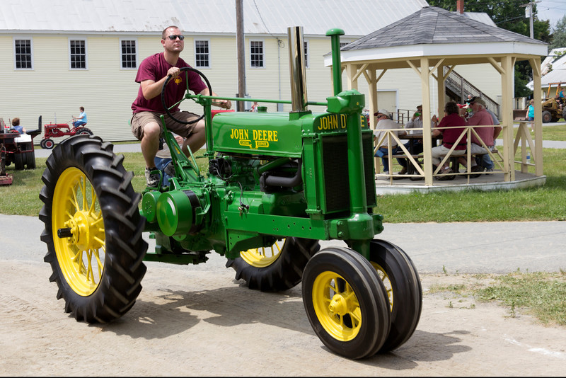 Annual Tractor Festival, Farmington, Maine