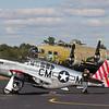 P-51 & B-17