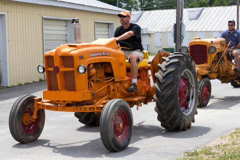 Annual Tractor Festival, Farmington, Maine
