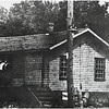 View of the Short Line freight house in Ithaca at North Tioga and Falls Streets. (Photo ID: 38319 b)