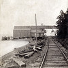 Atwater Landing and Station on Cayuga Lake from the south, Genoa, NY. (Photo ID: 28059)