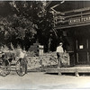 Kings Ferry train station with horse and buggy. (Photo ID: 28584)