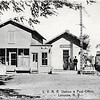 L. V. R. R. Station & Post Office. (Photo ID: 28001)