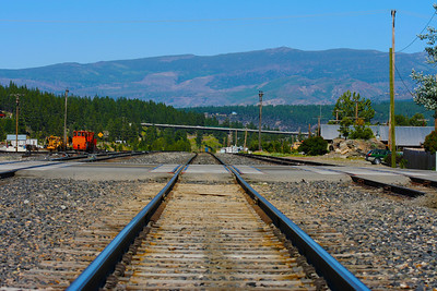CAPTION: Down The Tracks LOCATION: Truckee, California DATE: 7-11-05 NOTES: HEADING: