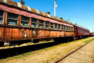 CALIFORNIA WESTERN RAILROAD'S SKUNK TRAIN Fort Bragg, California