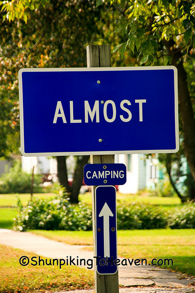 """Almost"" Sign, Wright County, Iowa"