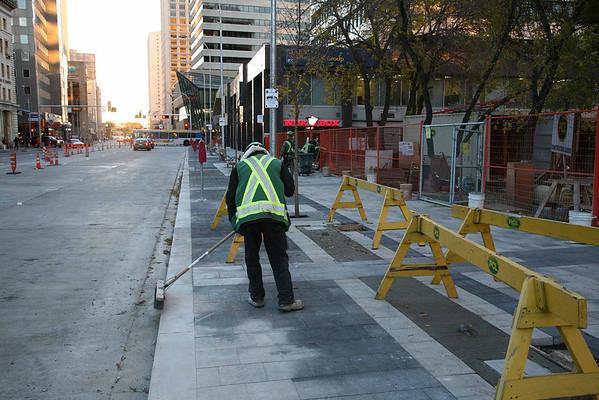 Jasper Avenue construction