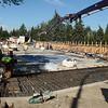 Summer construction on Stony Plain Road over Groat Road