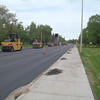 Completed paving on 112 Avenue
