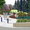 Artist rendering of Dwyer Square. The central village square of Station Pointe is named in honour of Patrick Dwyer, a prominent businessman who was the driving force behind many of the significant developments in the area.