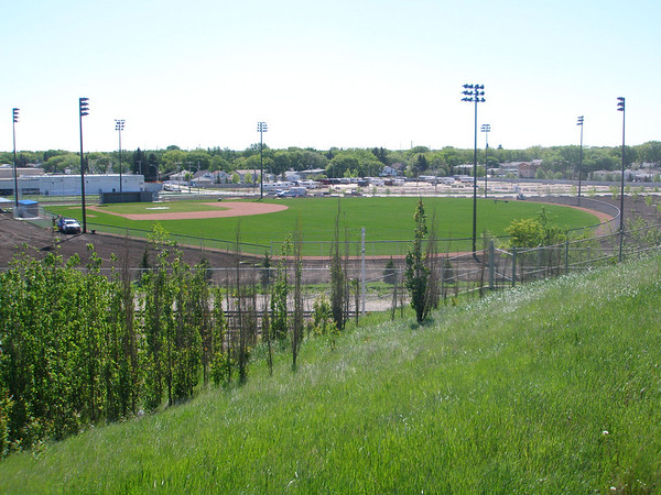 Wally Footz Field at 120 Avenue and 71 Street.
