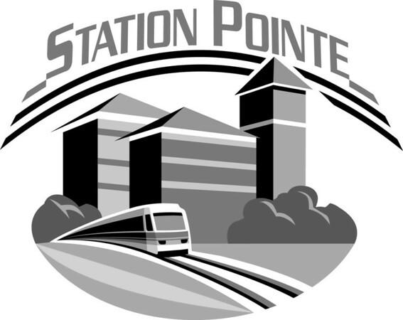 Station Point Logo B&W