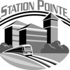 Station Point Logo B&W