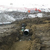 South side: extending CSP for outfall extension, February 2013.