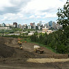 View of south side construction from Queen Elizabeth Park, August 2013.