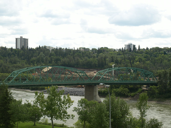 View of bridge from northwest (Legislature), August 2013.