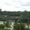 View of bridge from northwest (Legislature), August 2013.