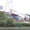 Walterdale Bridge Replacement Construction - August 2015