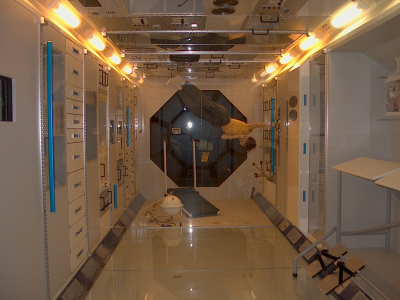 Inside the Space Station