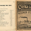 Ithaca RR timetable and Cayuga Lake Steamboat. (Photo ID: 28594)