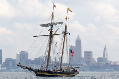 Pride of Baltimore in Cleveland, Ohio