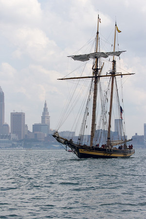 Pride of Baltimore comes to Cleveland, Ohio