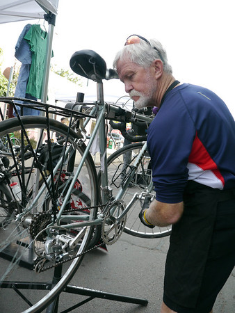 Bike Clinic at Parked - Car Free Day