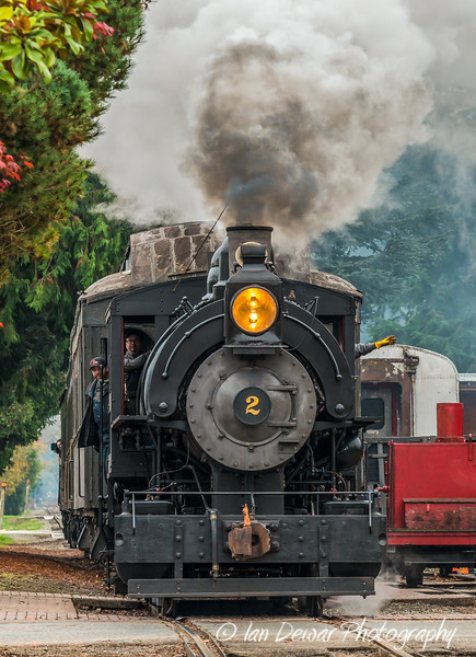 Steaming through Snoqualmie