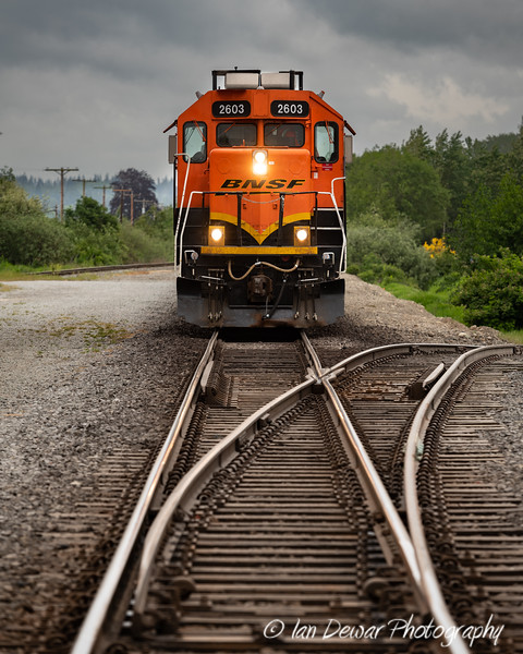BNSF 2603 working the local