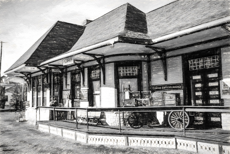 Old gorham Train Station