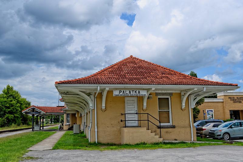 Palatka Atlantic Coast Line Railroad Depot