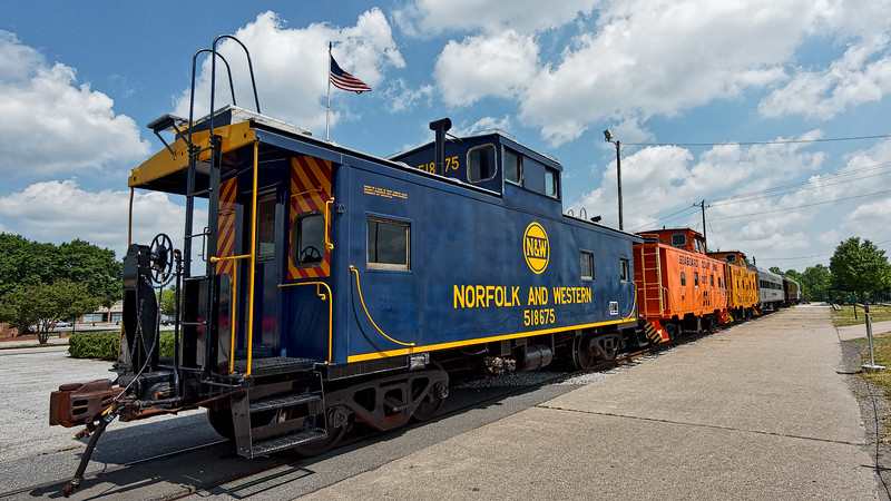 Norfolk and Western Caboose
