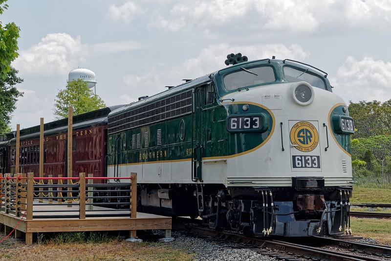 Southern Railway Locomotive 6133