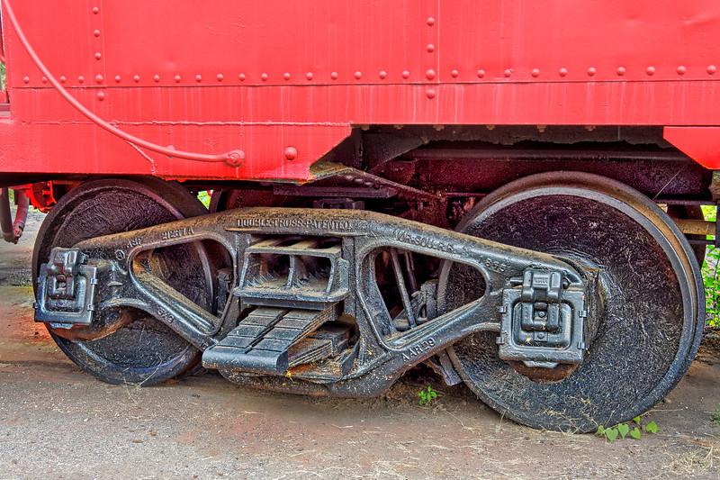 Railroad Double Truss in Kings Mountain