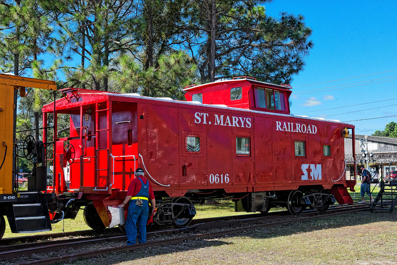St. Marys Railroad Caboose