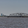 Biloxi Back Bay swing truss railroad bridge
