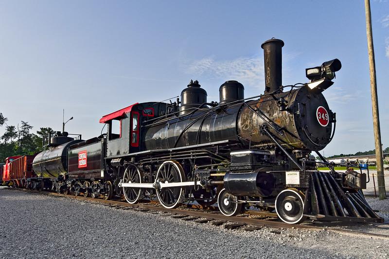 Baldwin Locomotive Works 4-4-0