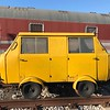 Classic Rail Service Vehicle snapped in Trieste, Italy