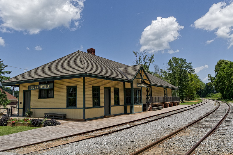 1918 Central of Georgia Depot