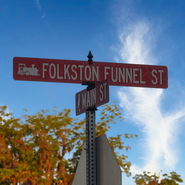 Corner of Folkston Funnel Street and Main