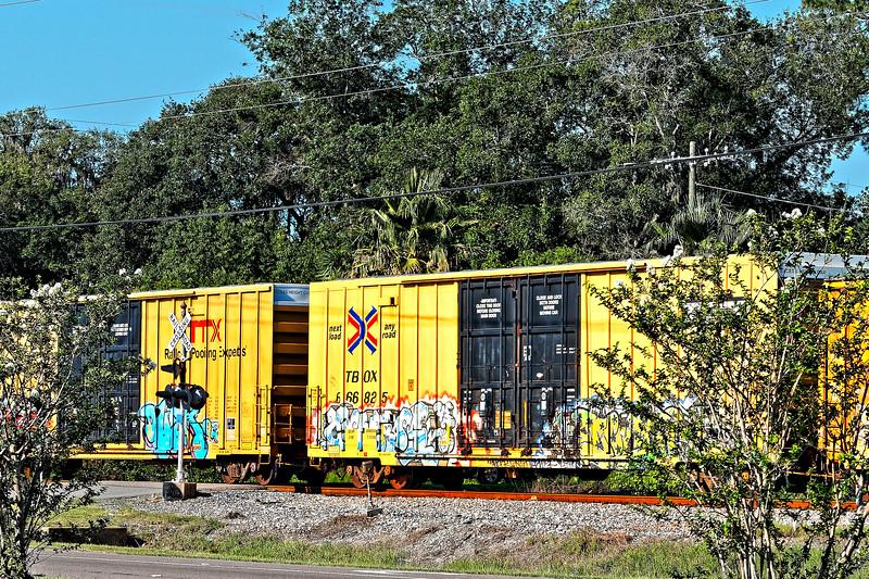 Tagged Railroad Cars