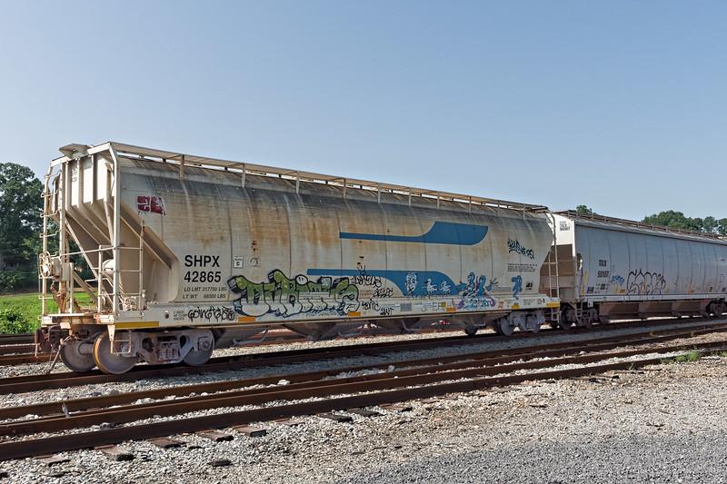 Old Rolling Stock at Bridgeport Depot,