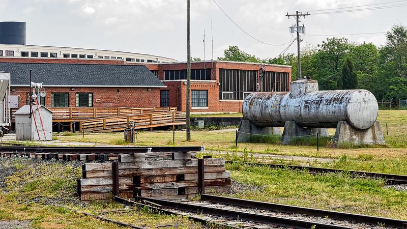 Spencer Rail Yard