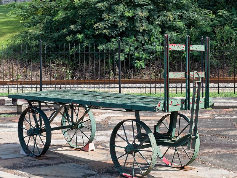 Old Railroad Baggage Cart