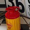 Antique Shell Gasoline Tank