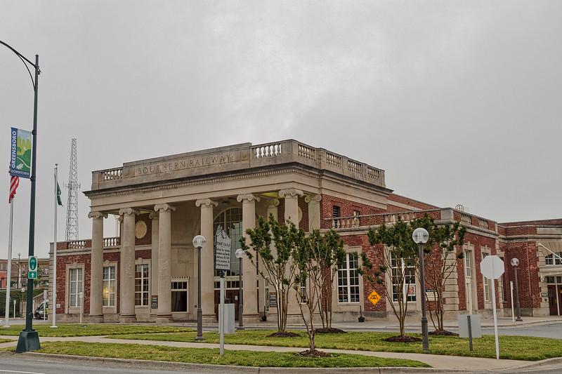 Greensboro 1927 Southern Railway Depot
