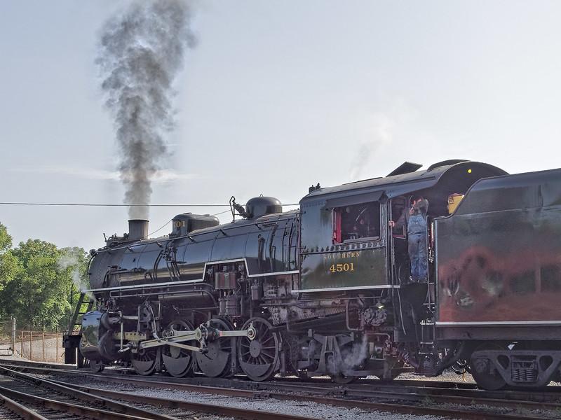 1911 Baldwin Steam Locomotive
