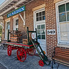 Luggage Cart at Dunedin Florida Depot