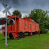 Caboose and Crossing Signal