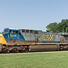 CSX Diesel Locomotive 5015 at Bridgeport Depot